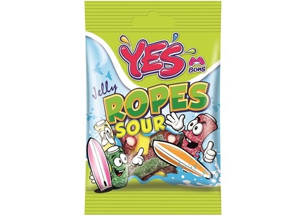 YES Jelly Ropes Sour